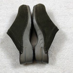 Dansko Shoes - Women's Green Dansko Clogs